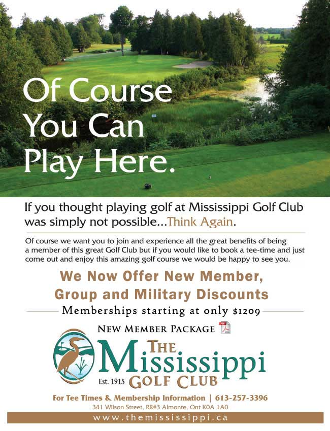 The Mississippi Golf Club New Membership Package