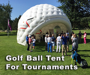 Inflatable Golf Ball Tent